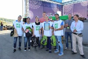 II Чемпионат Томской области по спортивному сбору мусора. Сентябрь 2016